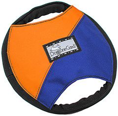 Tug & Treat Frisbee Blau-Orange