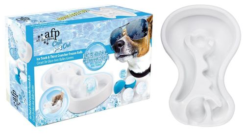 Chill Out - Ice Track & Thirst Cruncher Iceballs / Eislabyrinth für Hunde